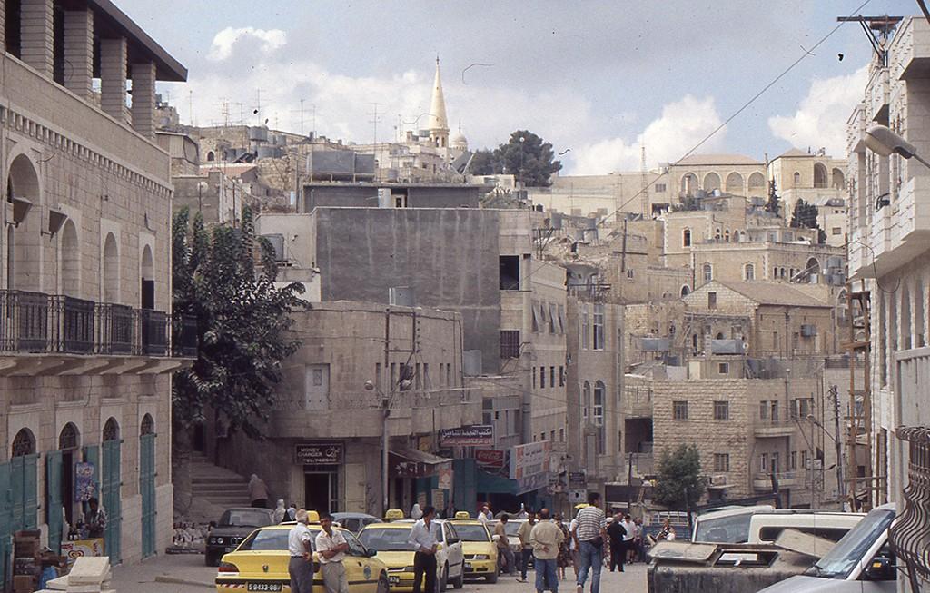 Bethlehem steet scene 1999