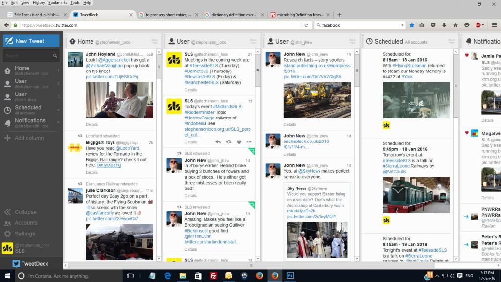 Tweetdeck screengrab image