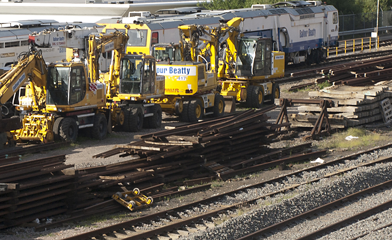 Research shows track maintenance accepted - photo of equipment.